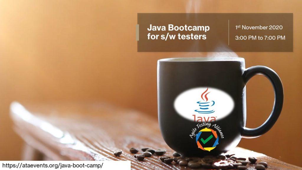 Java Boot camp Nov