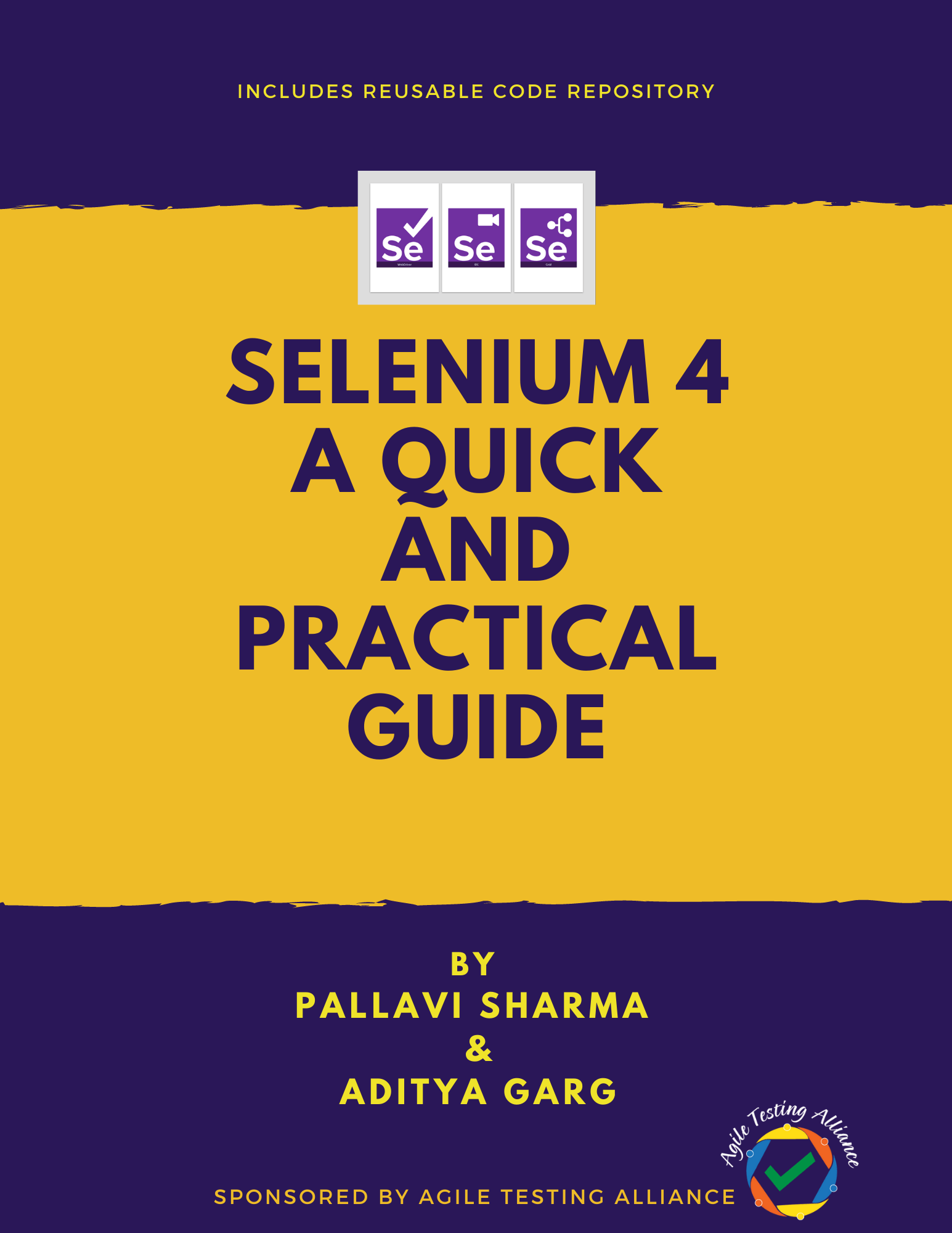 Cover Page Selenium 4 Ebook